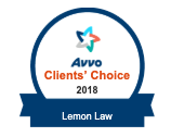 Avvo Clients' Choice 2018